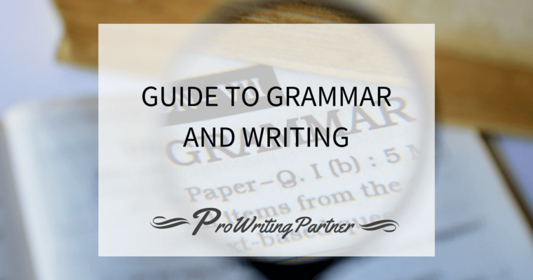 Guide to Grammar and Writing
