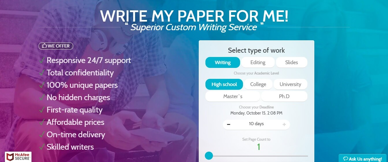 Pro essay writing service reviews